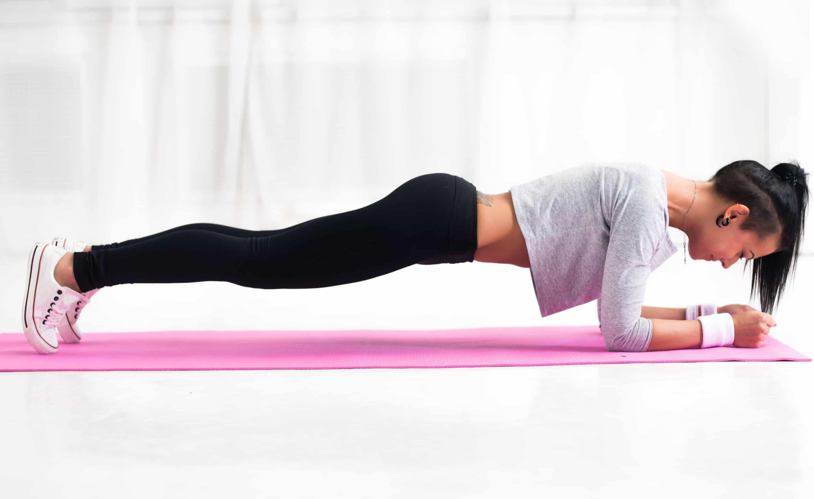 упражнение для осанки планка