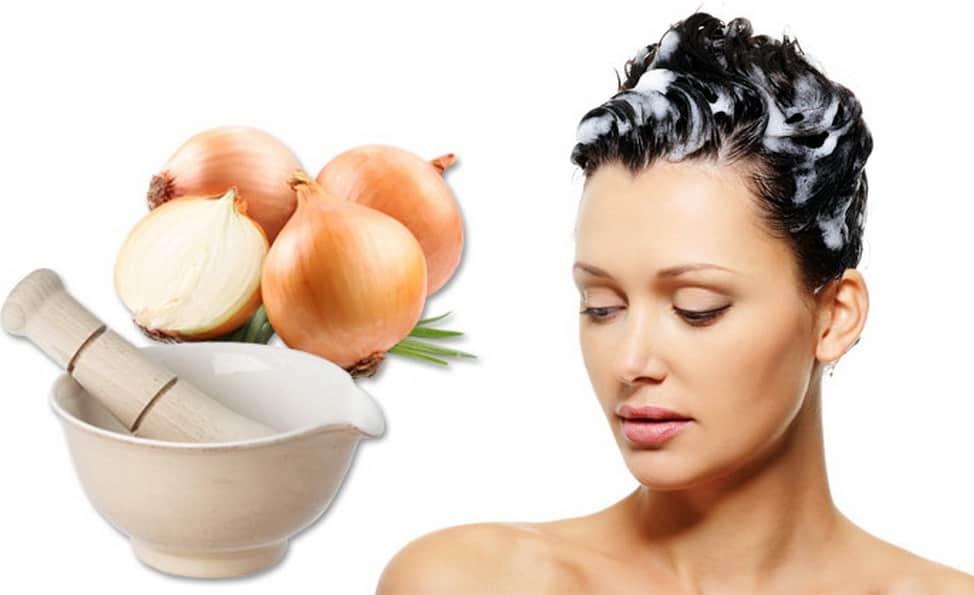 кроме настойки стручкового перца от выпадения волос можно применять лук