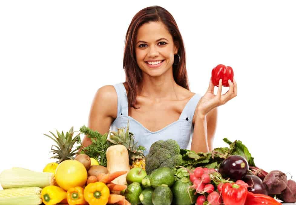 Диетический ужин для похудения на скорую руку должен включать овощи и зелень