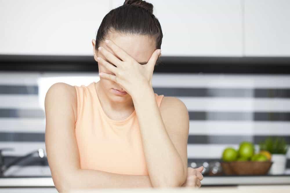 стресс - причина выпадения волос у женщин