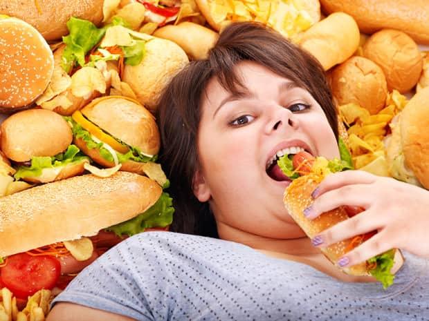 нерациональное питание - одна из причин снижения иммунитета