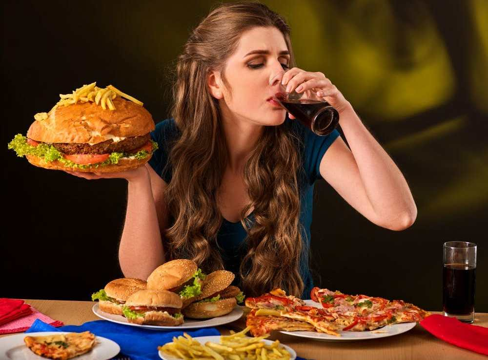 неправильное питание снижает иммунитет