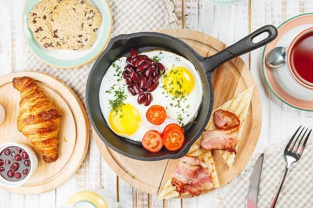 белковый завтрак для похудения