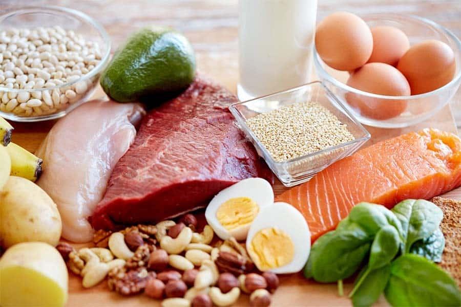 белковая дробная диета для похудения