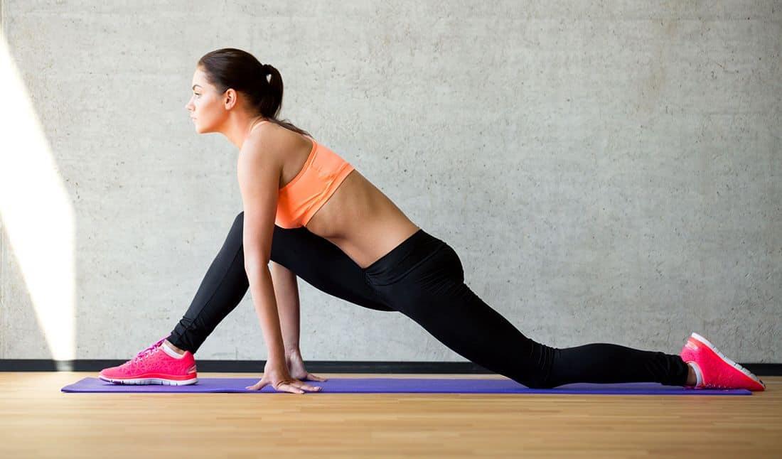 упражнение стретчинга для похудения