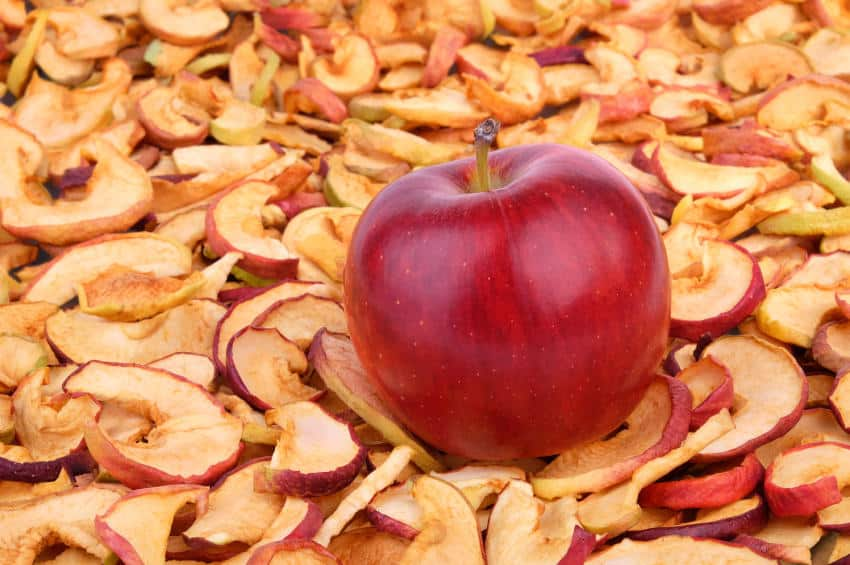 Яблочная сушка - сухофрукт для похудения