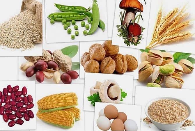 Продукты с высоким содержанием витамина В8