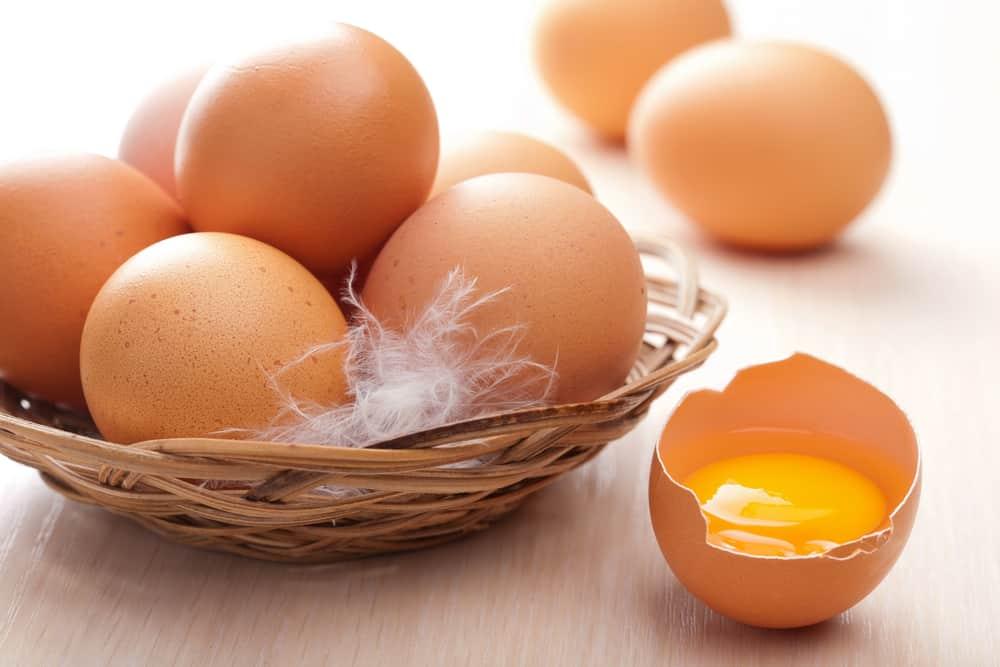 Витамины и минералы в яйцах
