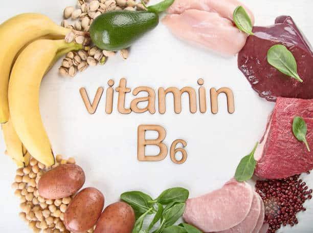 Витамин В6 от заед на губах