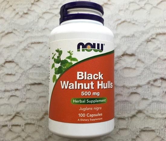 Экстракт черного ореха Now Foods