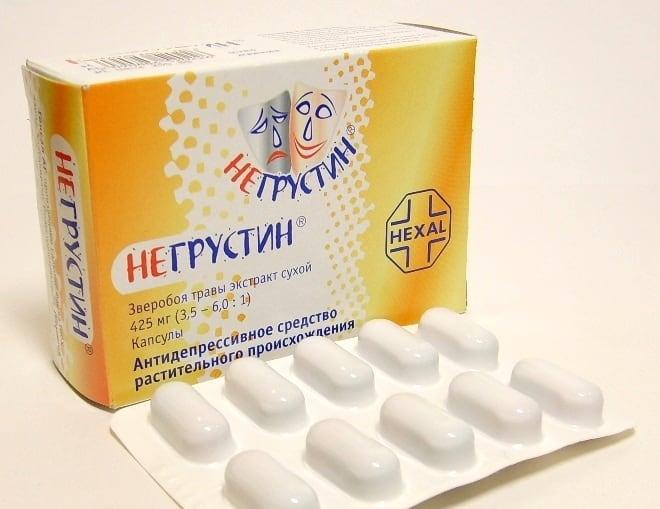 Негрустин - препарат с экстрактом зверобоя