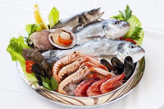 Рыба и морепродукты - самые полезные продукты для наращивания мышц