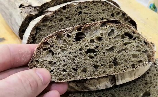 кето хлеб из конопляной муки