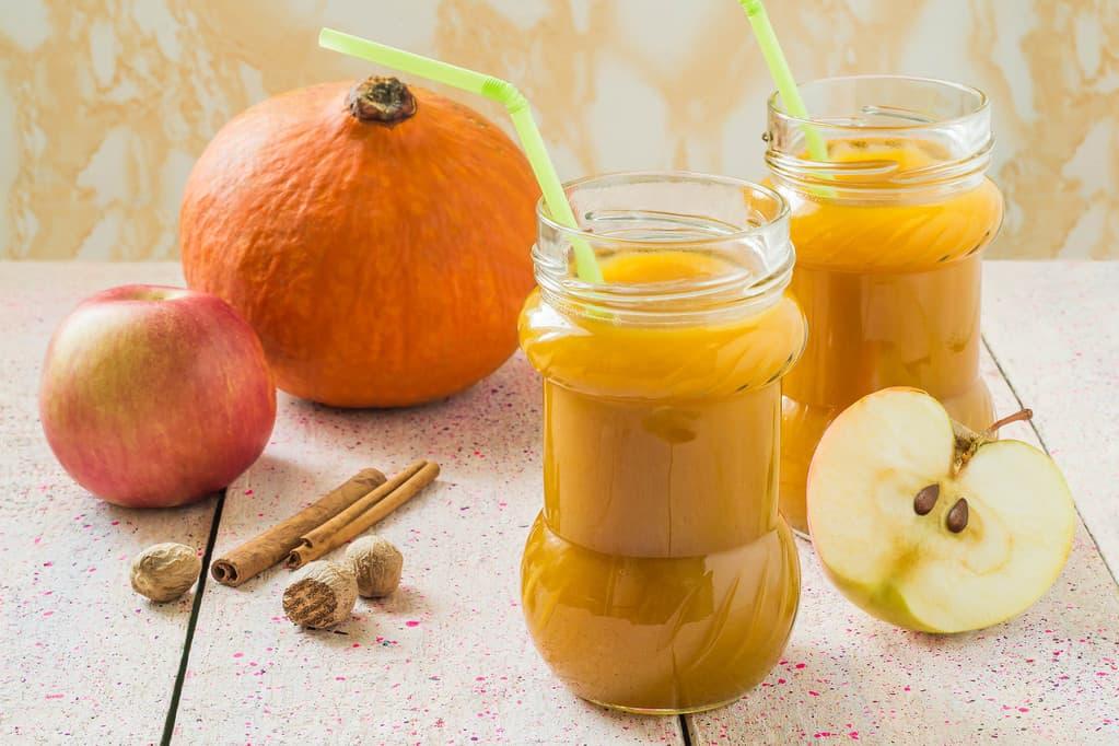 сок тыквы c яблоком
