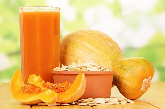 сок тыквы для организма