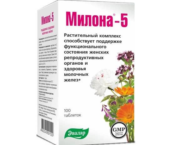 Милона-5 - препарат с душицей