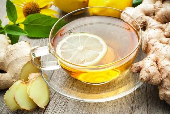 чай с имбирем для желудка