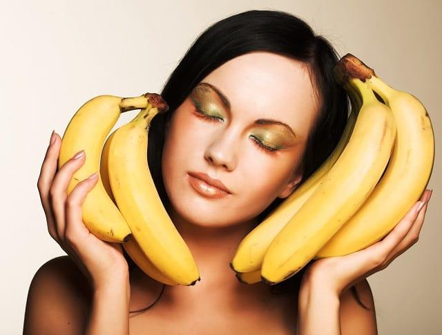 Маска из банана для лица