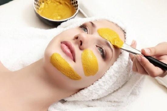 маска с куркумой для лица от морщин