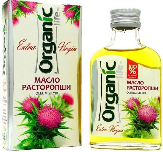 масло расторопши для похудения 100%, Organiclife