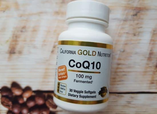 БАД коэнзим q10 CALIFORNIA GOLD NUTRITION