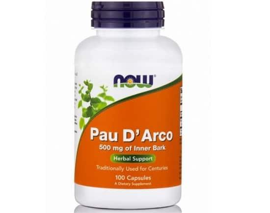 Pau D'arcoот Now Foods - препарат с корой муравьиного дерева