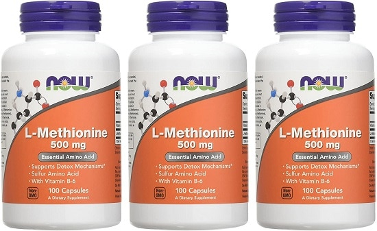 • Now Foods. L-Methionine