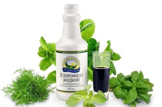 Liquid Chlorophyll от Natures Sunshine.