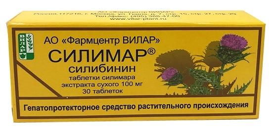 Силимар - препарат силимарина