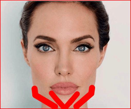 техника тейпирования овала лица