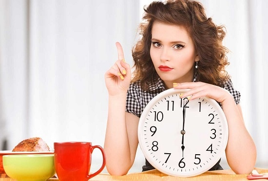 Питание по часам – наиболее разумный вариант режима питания