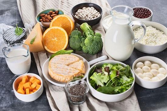 список лучших продуктов с кальцием для костей