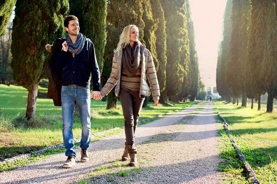снизить уровень гормонов стресса у женщин помогут прогулки на свежем воздухе