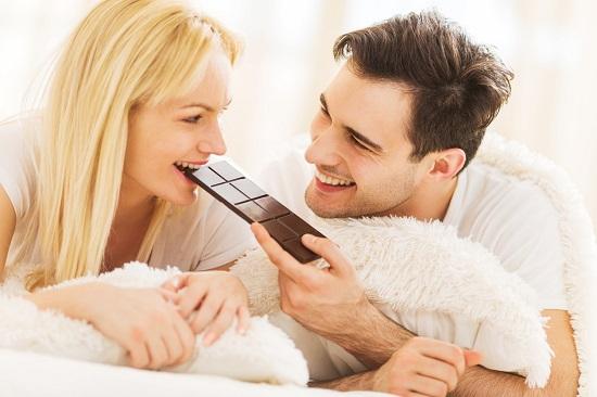 шоколад усиливает выработку гормонов любви