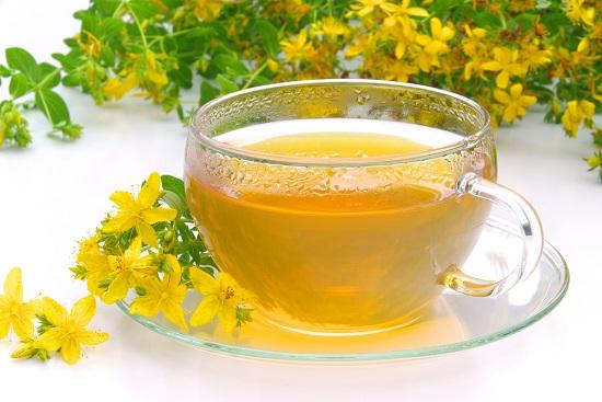 чай из зверобоя от депрессии