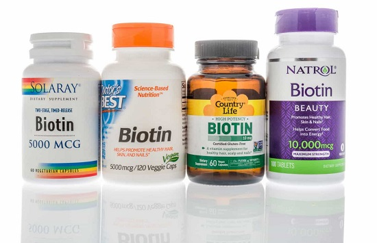 Витамин биотин для волос: лучшие бады