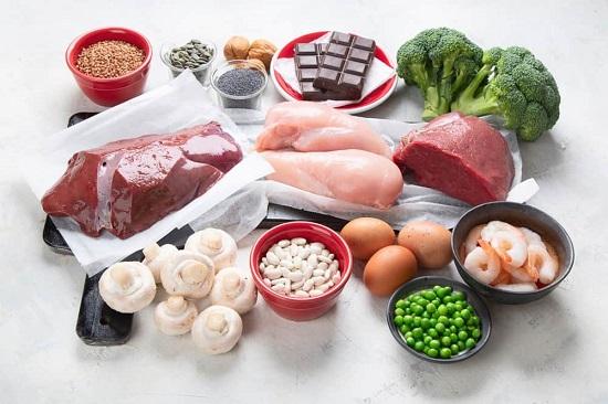 продукты повышающие железо в крови