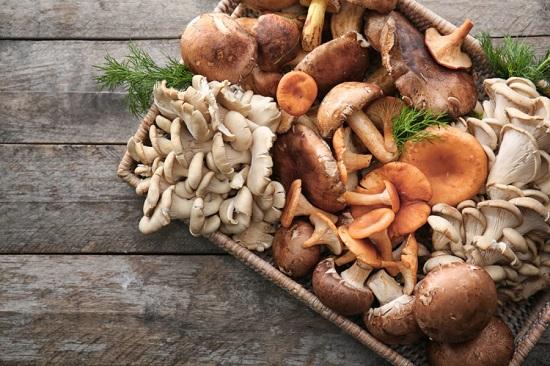 белковые продукты: грибы