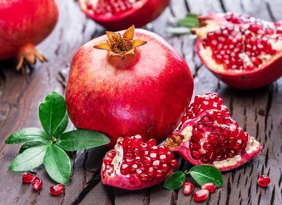 самые полезные фрукты и овощи: гранат
