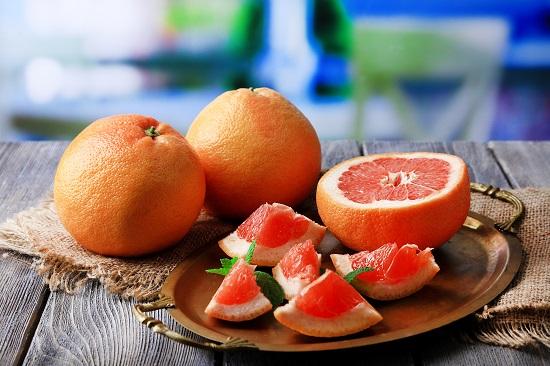 самые полезные фрукты и овощи: грейпфрут