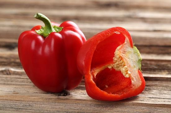 самые полезные фрукты и овощи: болгарский перец