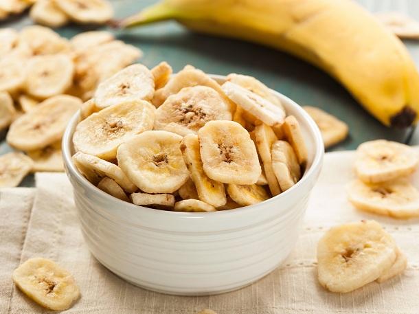 Сушеные бананы польза