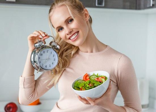 здоровое питание: режим питания