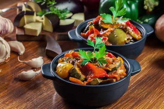 рецепты здорового питания: рататуй