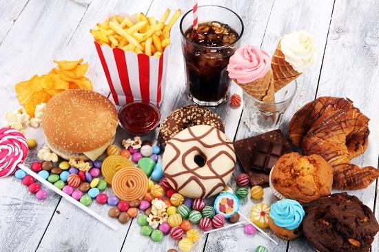 неправильное питание: вредные продукты