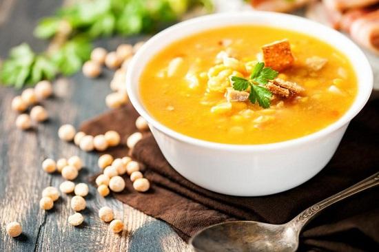 рецепты сбалансированного питания: гороховый суп
