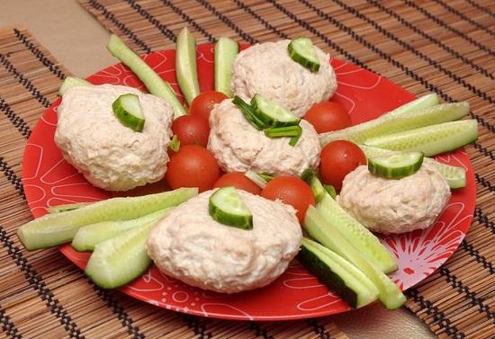 рецепты сбалансированного питания: паровые котлеты
