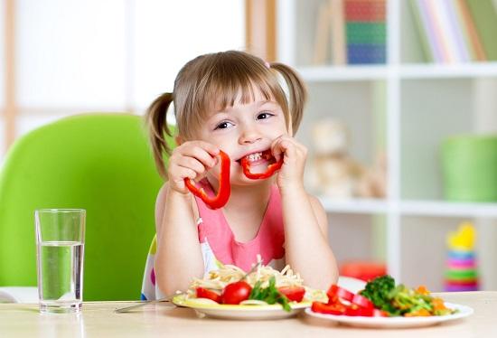 сбалансированное питание для детей