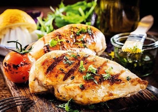 рецепты сбалансированного питания: куриные грудки в духовке