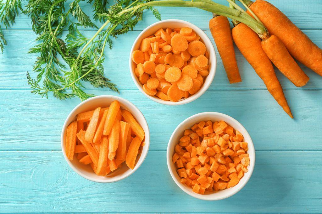 Разгрузочный день на овощах и фруктах: морковь